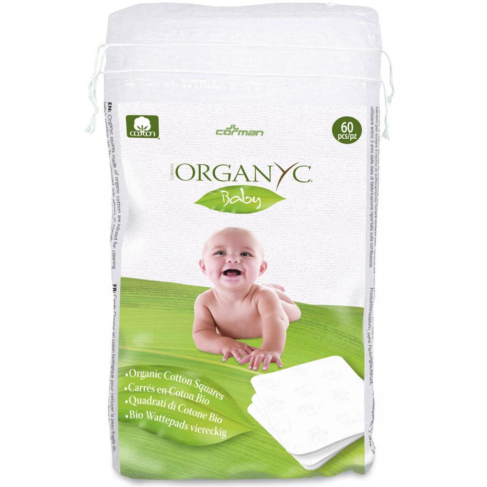 Ватные подушечки Organyc из органического хлопка 60 шт<br>