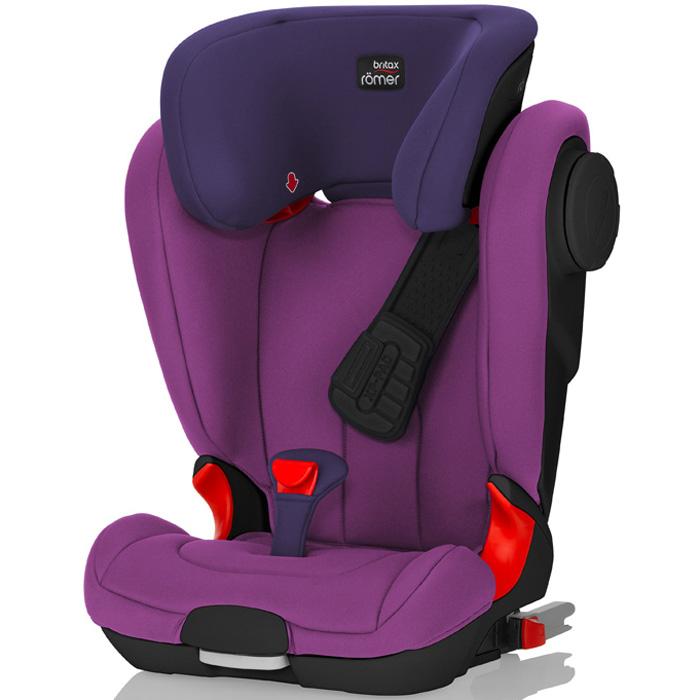 Автокресло Britax Romer Kidfix II XP SICT Black Series Mineral Purple Trendline<br>