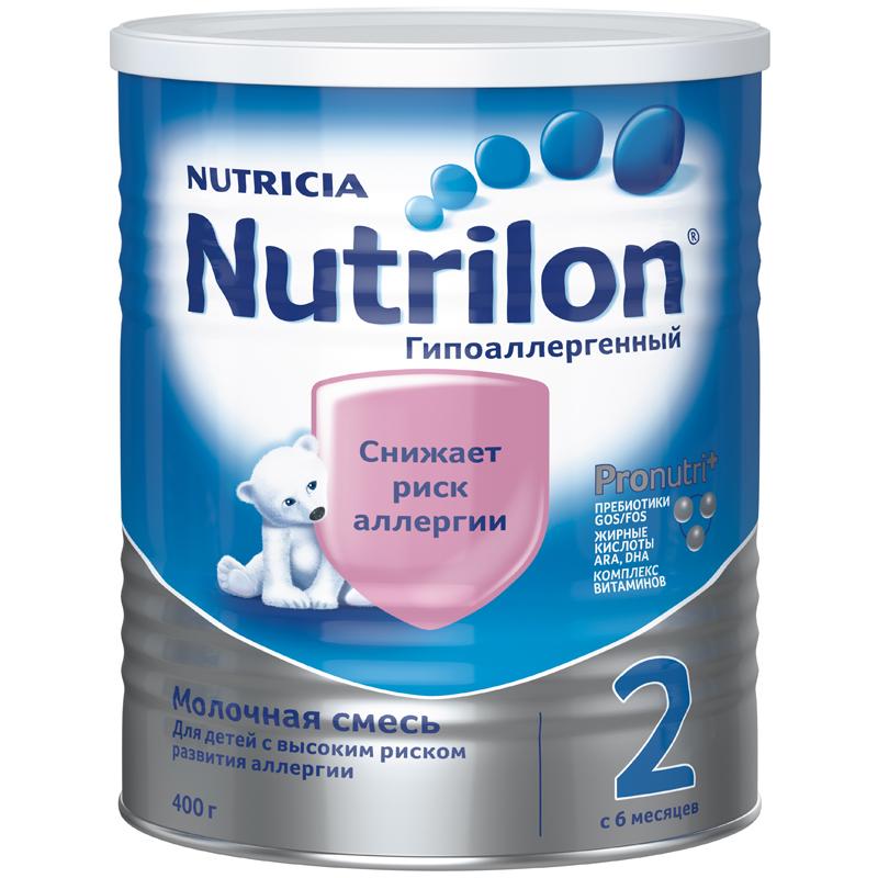 Заменитель Nutricia Nutrilon Гипоаллергенный 400 гр №2 (с 6 мес) (Nutrilon (Nutricia))