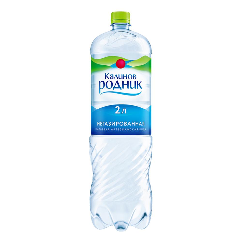 Вода Калинов Родник минеральная природная негаз 2 л