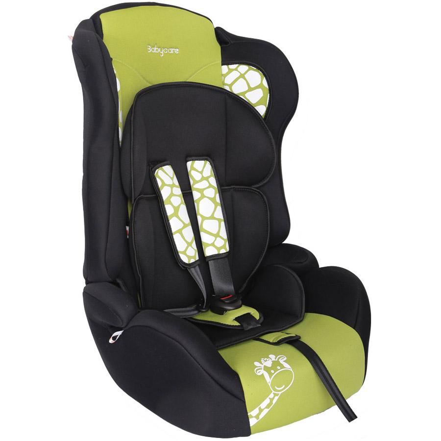 Автокресло Baby Care BC-513 Люкс Жирафик Зеленый<br>