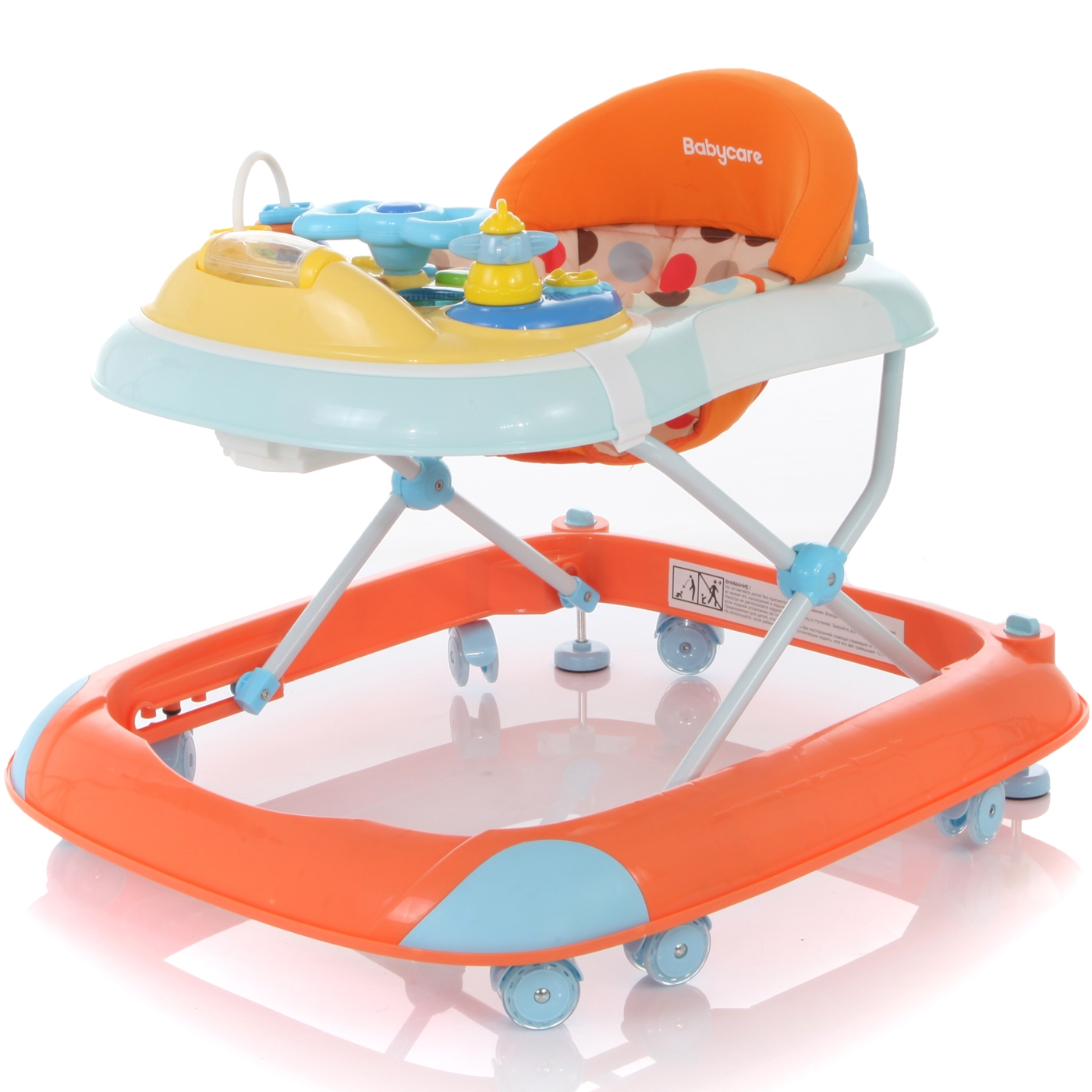 Ходунки Baby Care Step Orange<br>