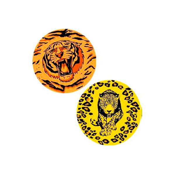 Мяч Гарант ПВХ 2 вида Тигр/Леопард C04788 (2-620/2-650)<br>