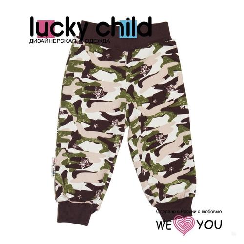 Штанишки Lucky Child Вежливые люди рост 98<br>