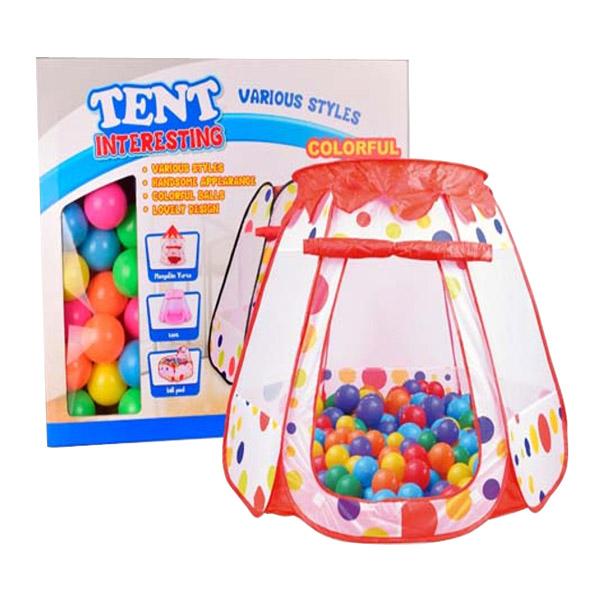 Игровая палатка YAKO С шарами 50 штук Y20206013<br>