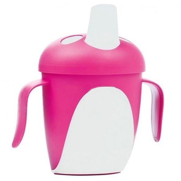 Чашка-непроливайка Canpol Babies Розовая (с 9 мес)<br>