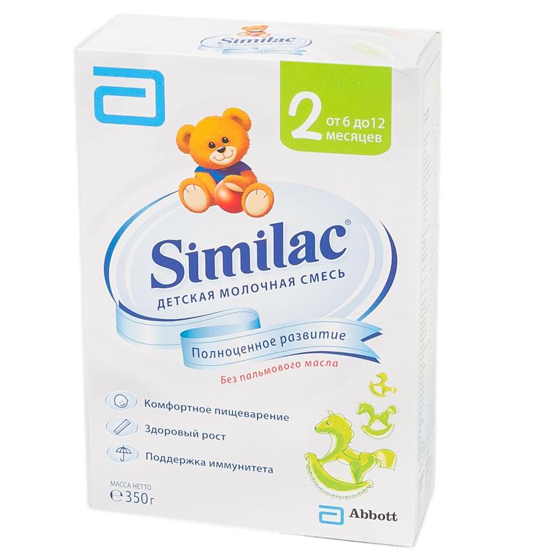 Заменитель Similac 350 гр №2 (с 6 до 12 мес)<br>