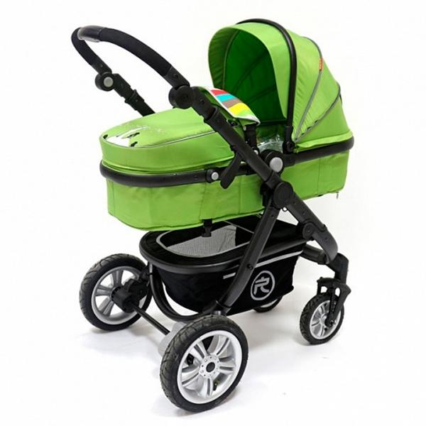 Коляска детская Rant Citylove Зеленая<br>