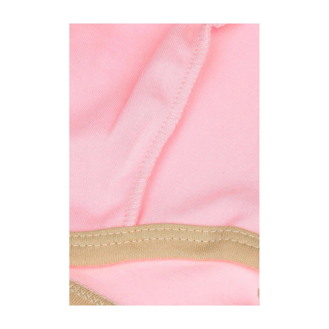 Чепчик Котмаркот Зайкина любовь размер 44 розовый (КОТМАРКОТ)