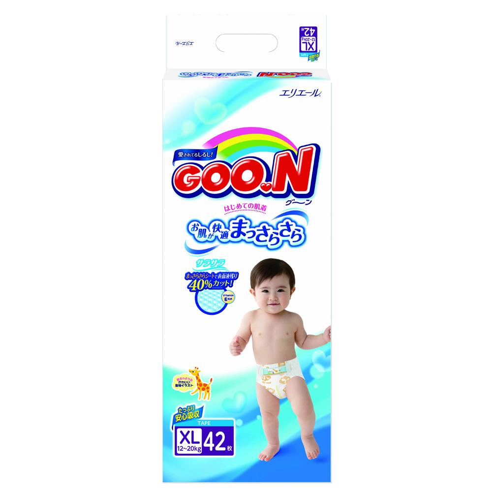 Подгузники Goon Econom 12-20 кг (42 шт) Размер BIG<br>