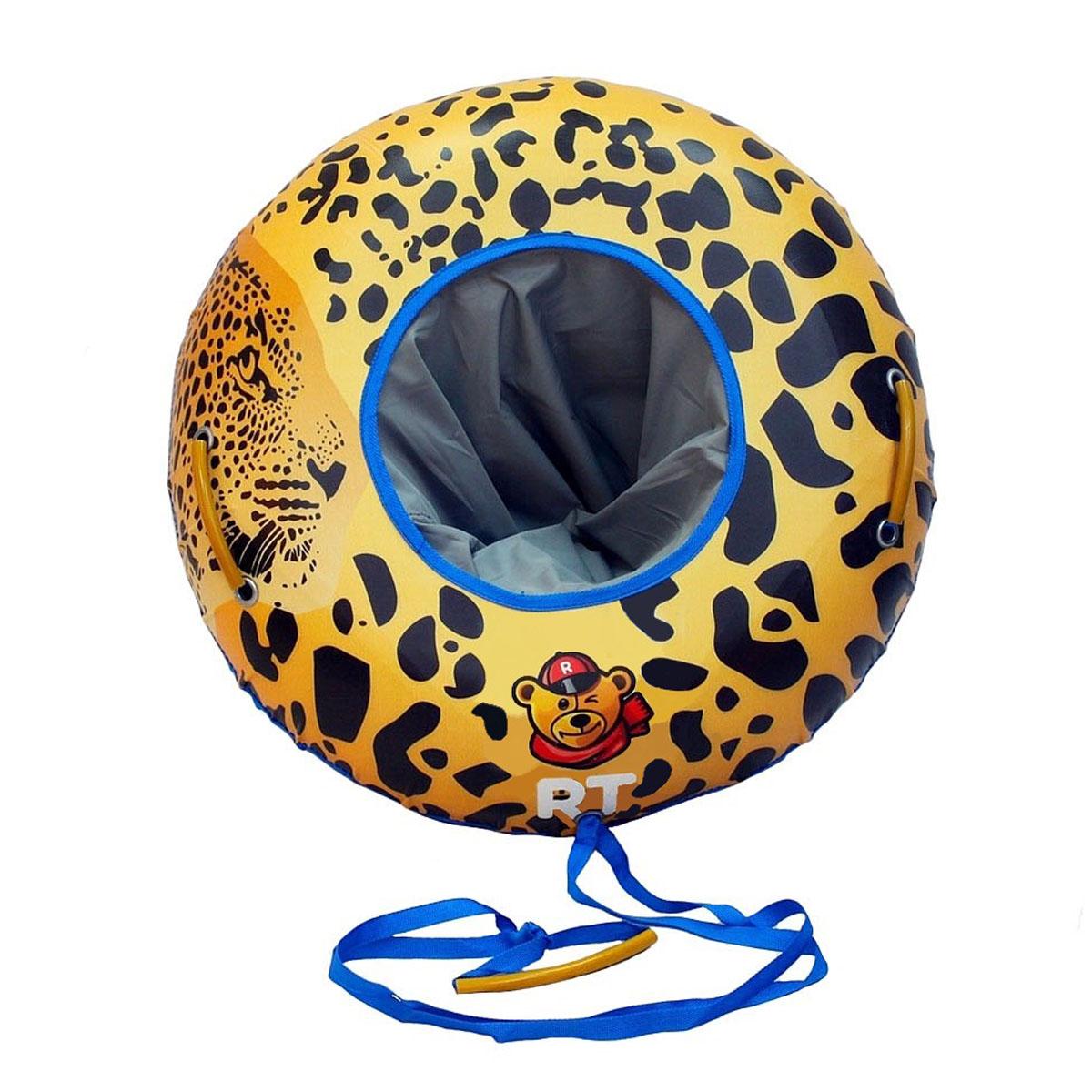 Тюбинг P-Toys № 13 Luxury Snow Элит Гепард диаметр 85 см
