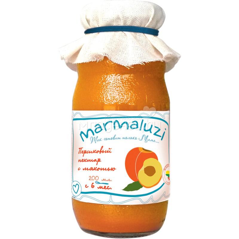 Сок Marmaluzi 200 мл. Персик с мякотью