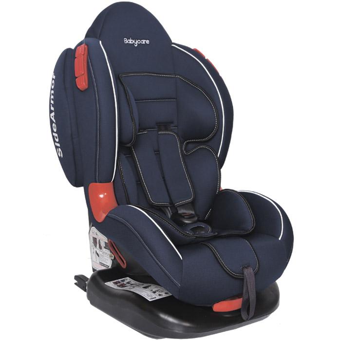 Автокресло Baby Care BC-02 ISOFIX Люкс Тёмно-синий<br>
