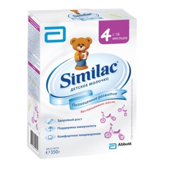 Заменитель Similac 350 гр № 4 (с 18 мес)