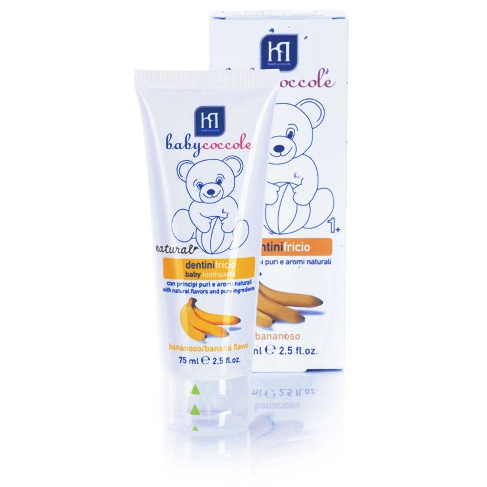 Зубная паста Babycoccole со вкусом банана 75 мл<br>