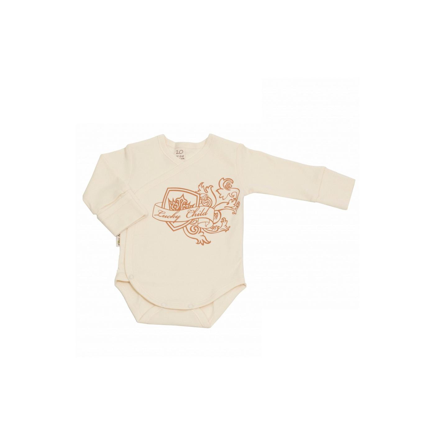 Боди Lucky Child коллекция Экрю Размер 62<br>