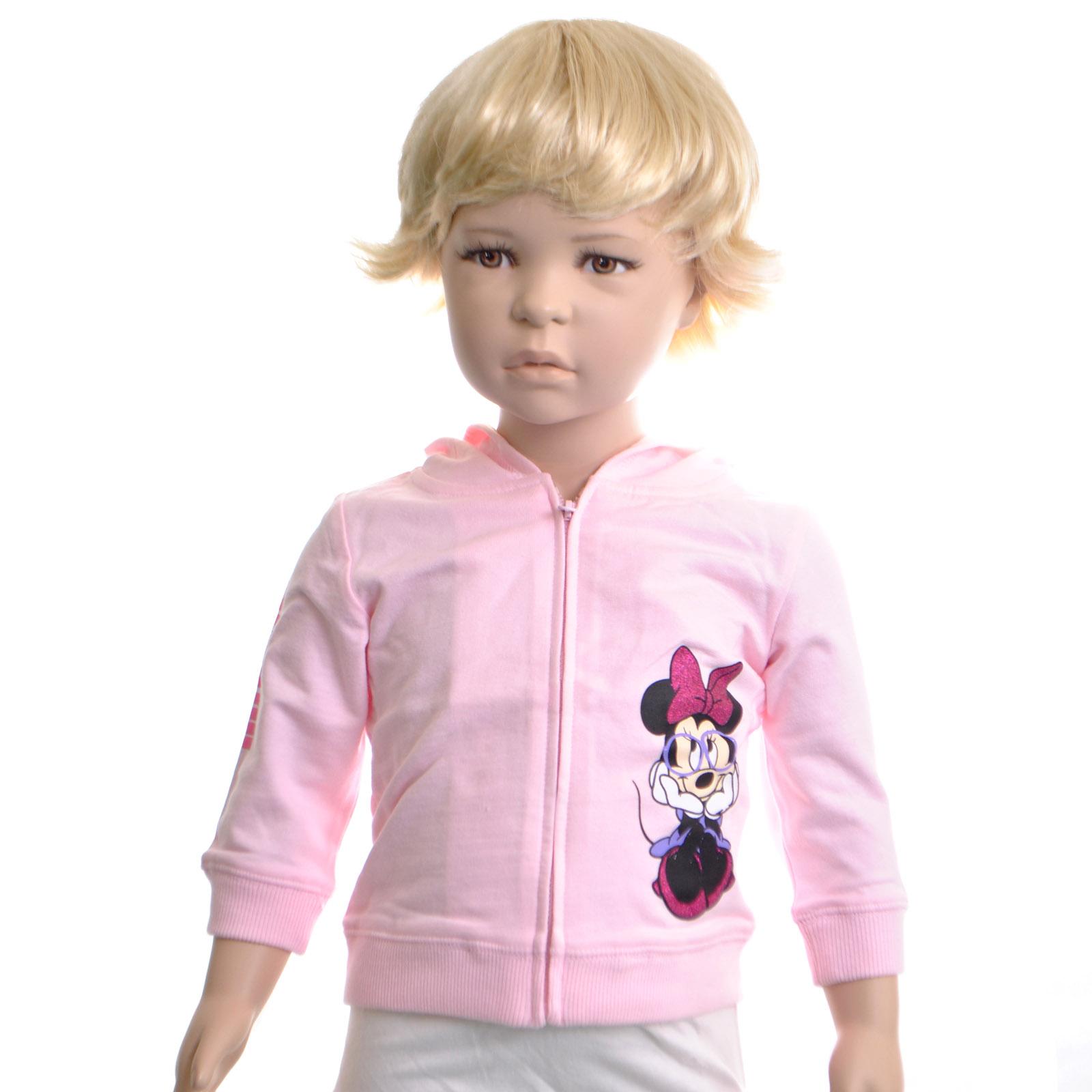 Толстовка FOX Фокс цвет розовый для девочки с 18 до 24 мес.