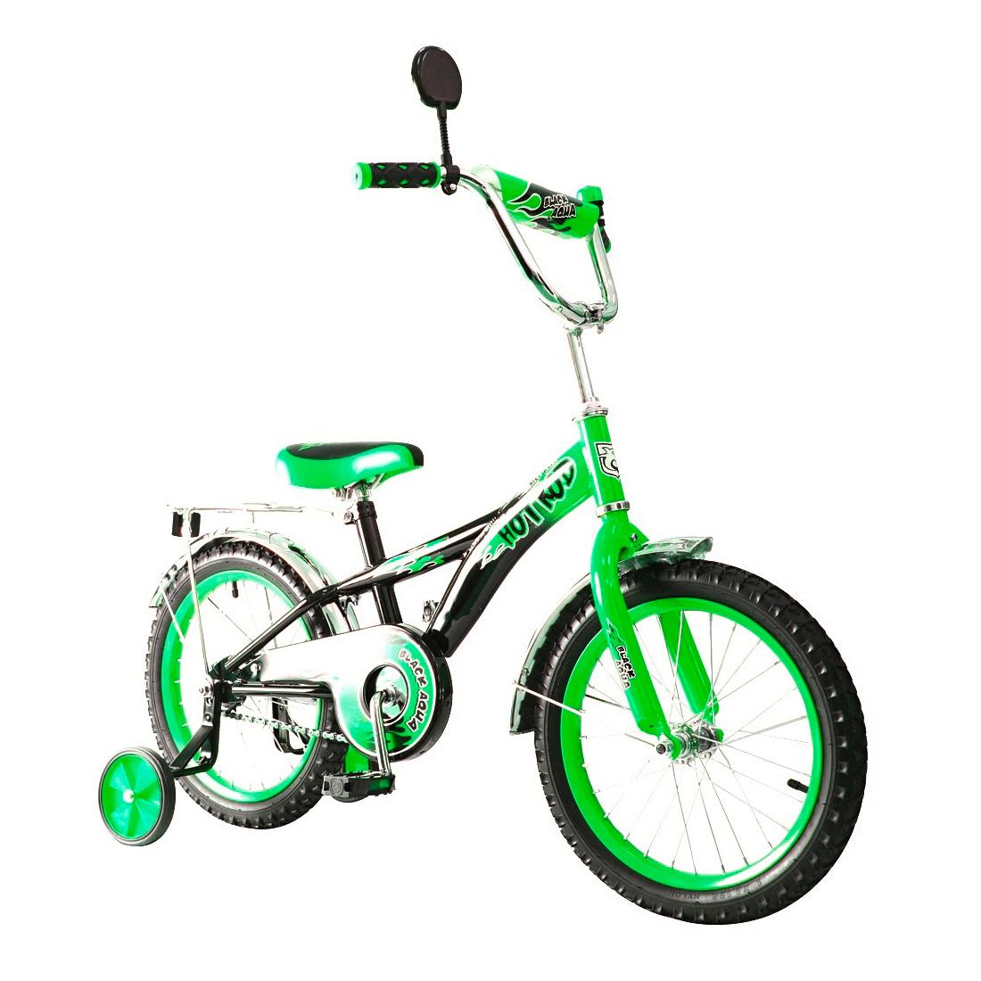 Велосипед двухколесный RT BA Hot-Rod 16 KG1606 Зеленый<br>