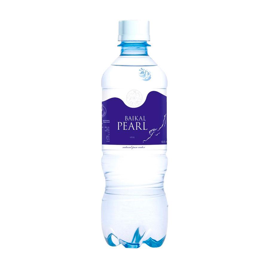 Вода питьевая Жемчужина Байкала Baikal Pearl 0,5 л