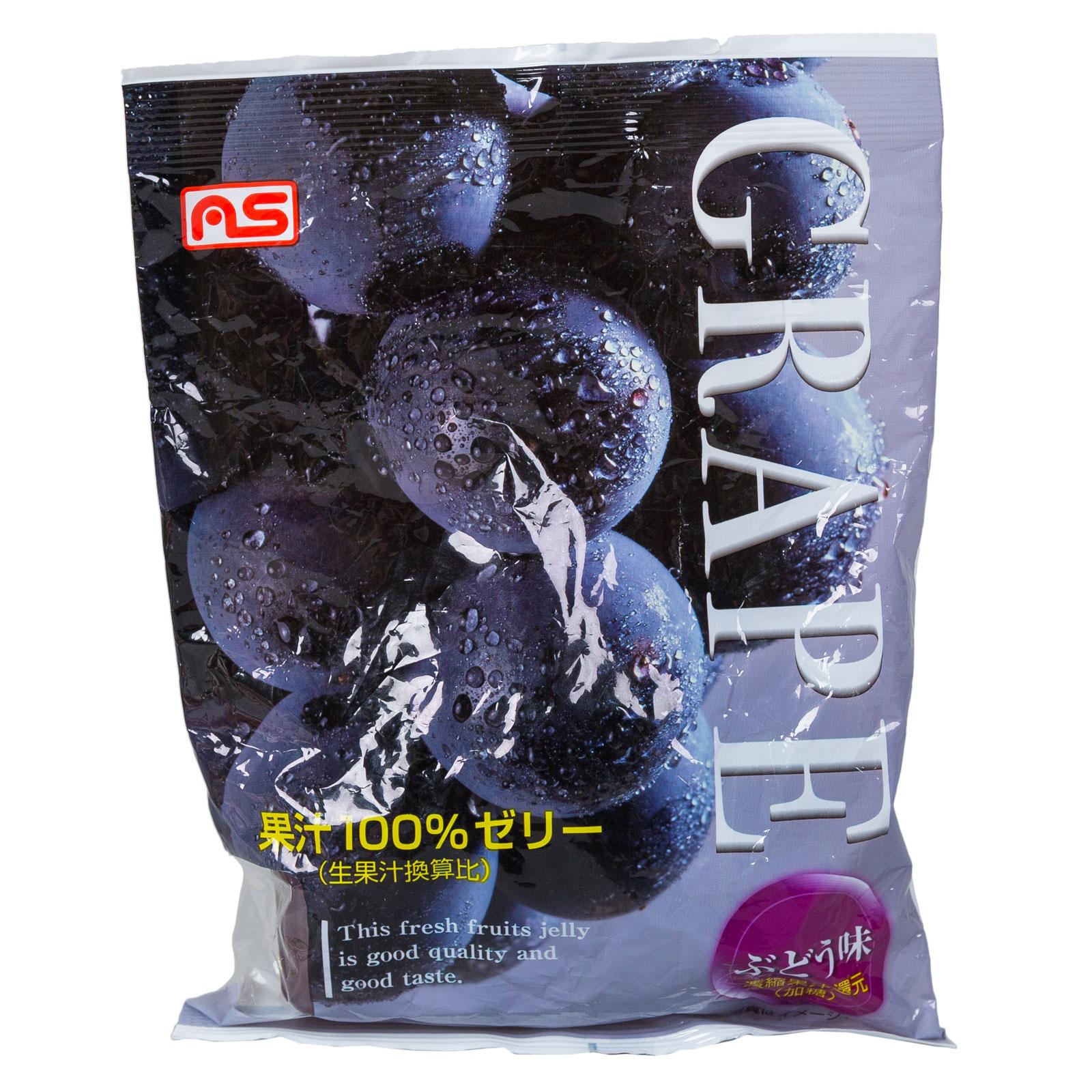 Желе AS Foods фруктовое 175 гр Виноградное 7 порций (с 3 лет)<br>