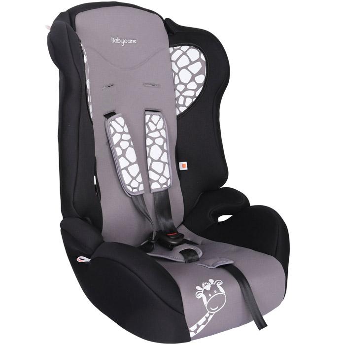 Автокресло Baby Care BC-513 Жирафик Серый<br>