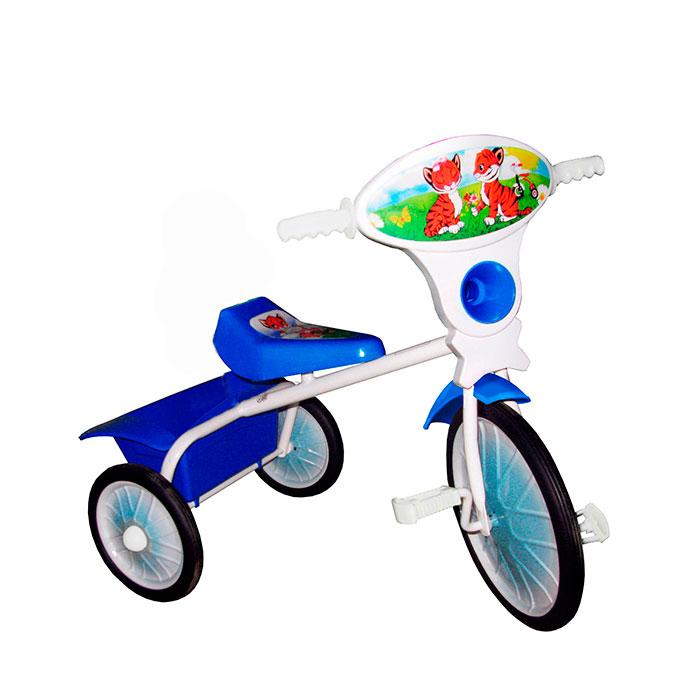 Велосипед трехколесный Малыш с кузовком Синий<br>