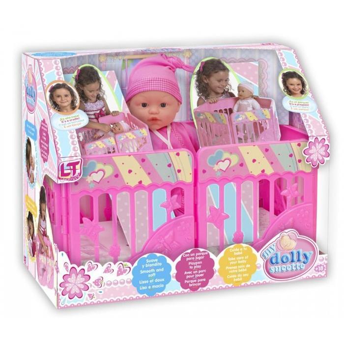 Кукла LOKO TOYS My Dolly Sucette с игровой площадкой<br>