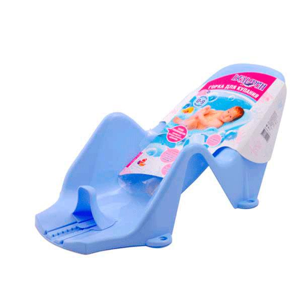 Горка для купания  Пластик Дельфин цвет - Голубой<br>