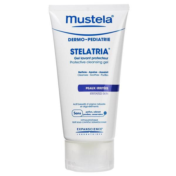 Очищающий защитный гель Stelatria Mustela 150 мл<br>