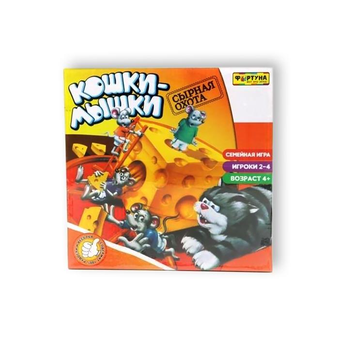 Настольная игра Фортуна Кошки Мышки. Сырная погоня<br>