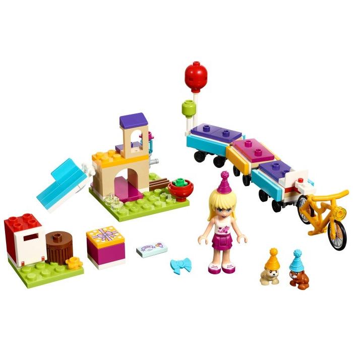Конструктор LEGO Friends 41111 День рождения: велосипед<br>