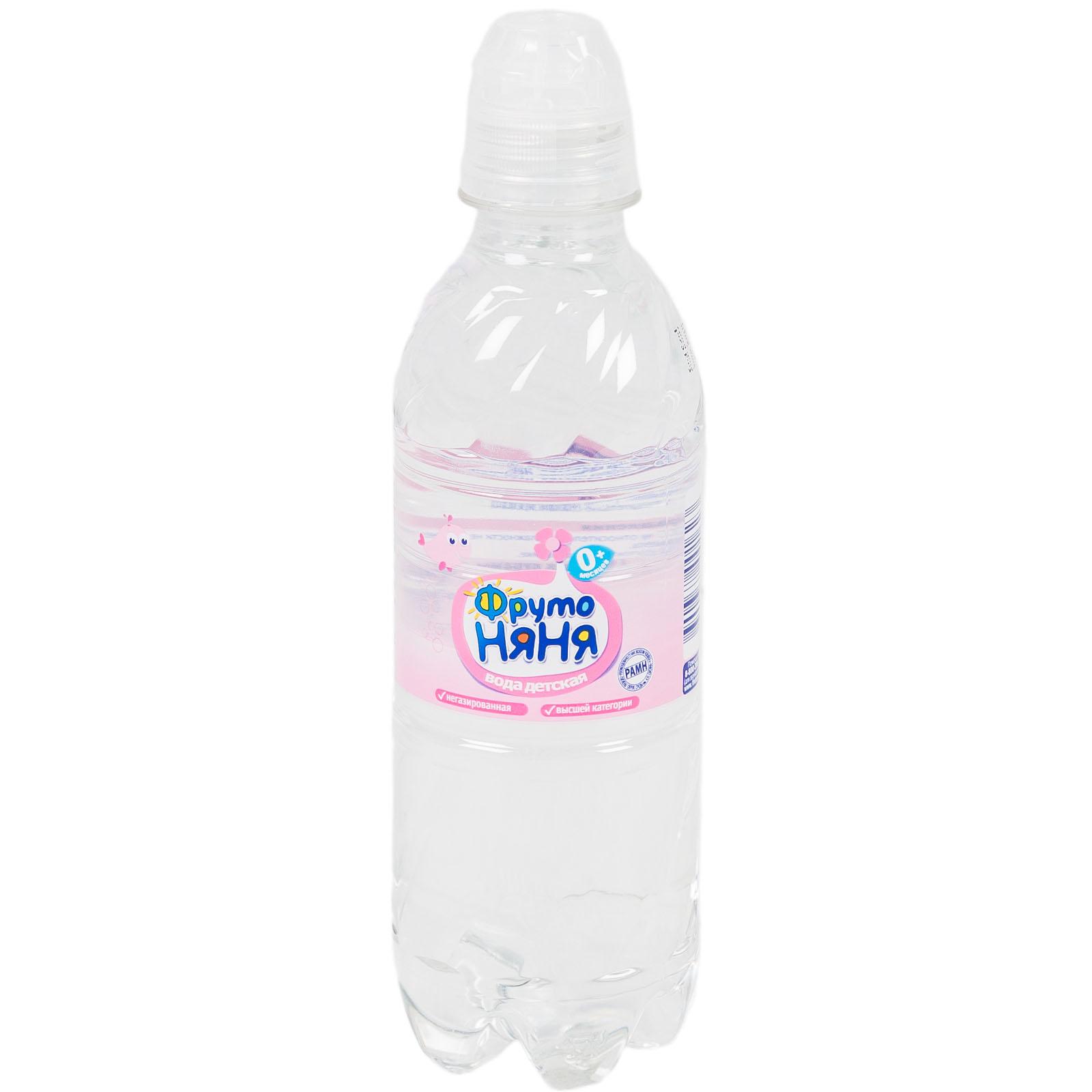 Вода детская ФрутоНяня 0.33 л<br>