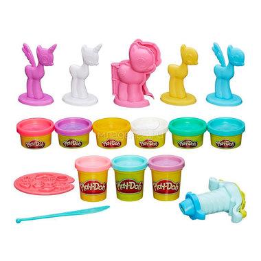 Игровой набор Play-Doh Создай любимую пони