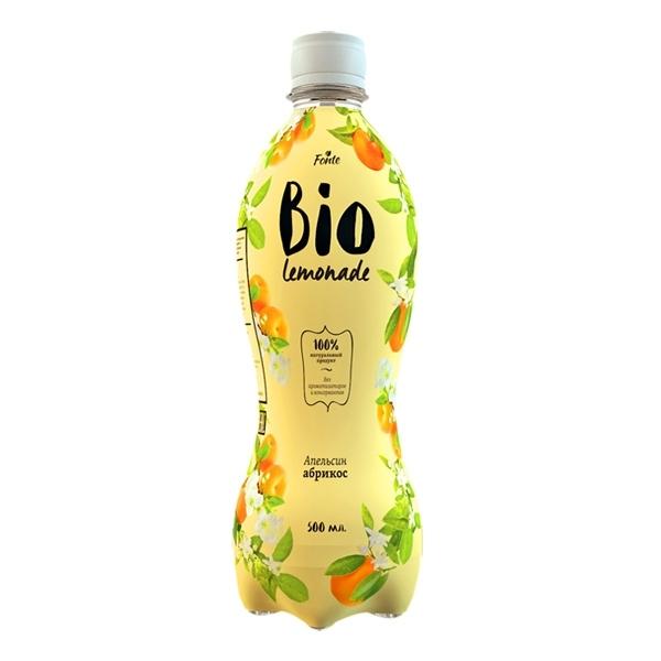 Лимонад Fonte Bio lemonade 0,5 л апельсин абрикос<br>