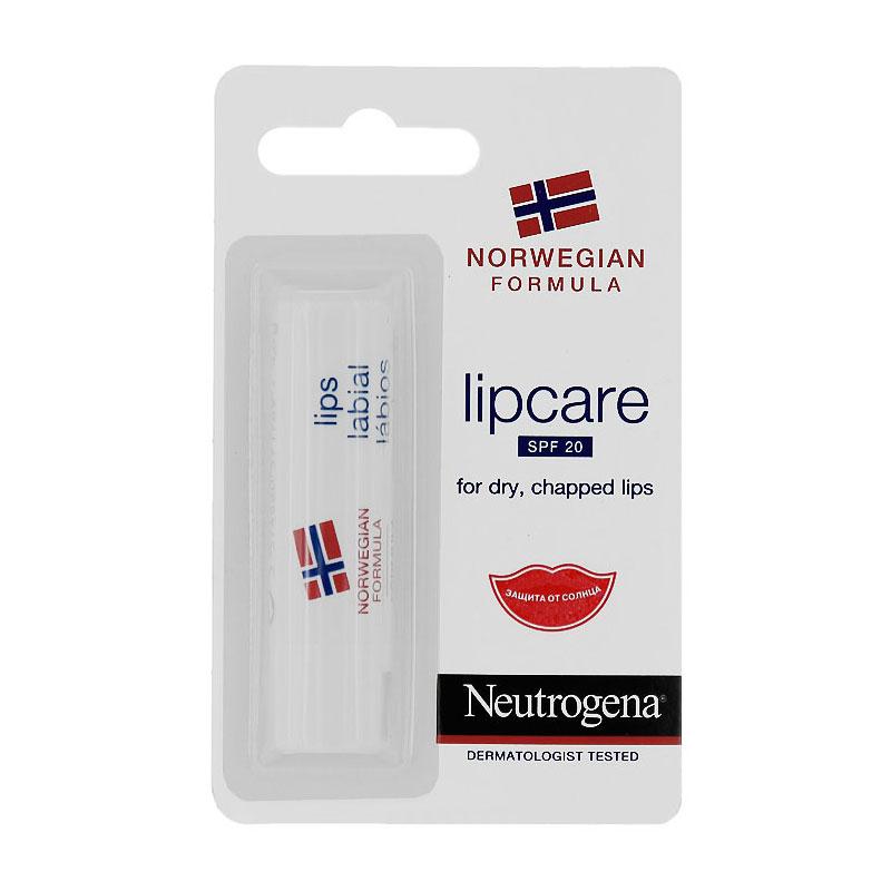 Бальзам-помада Neutrogena Норвежская Формула SPF20 4.8 г<br>