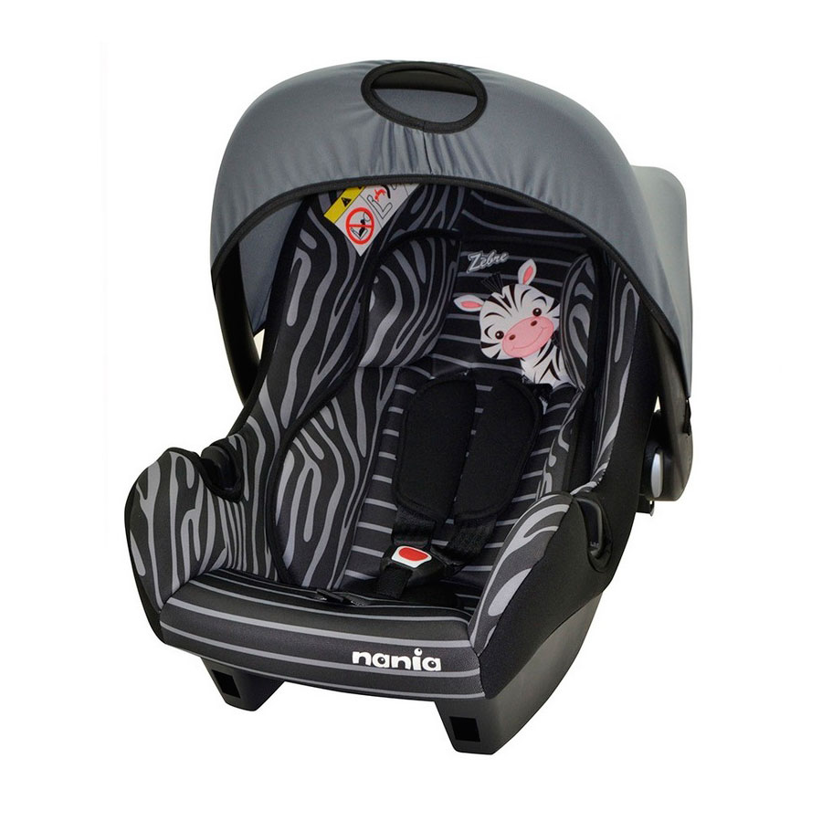 Автокресло Nania Beone Sp 0-13кг Animals Zebre Black<br>