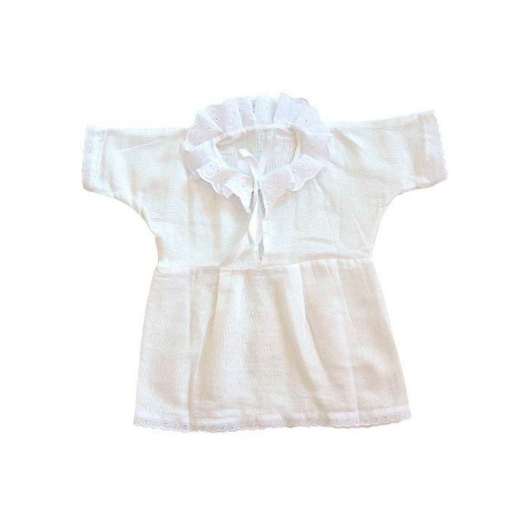 Платье Памама крестильное с воротничком Размер 24-26
