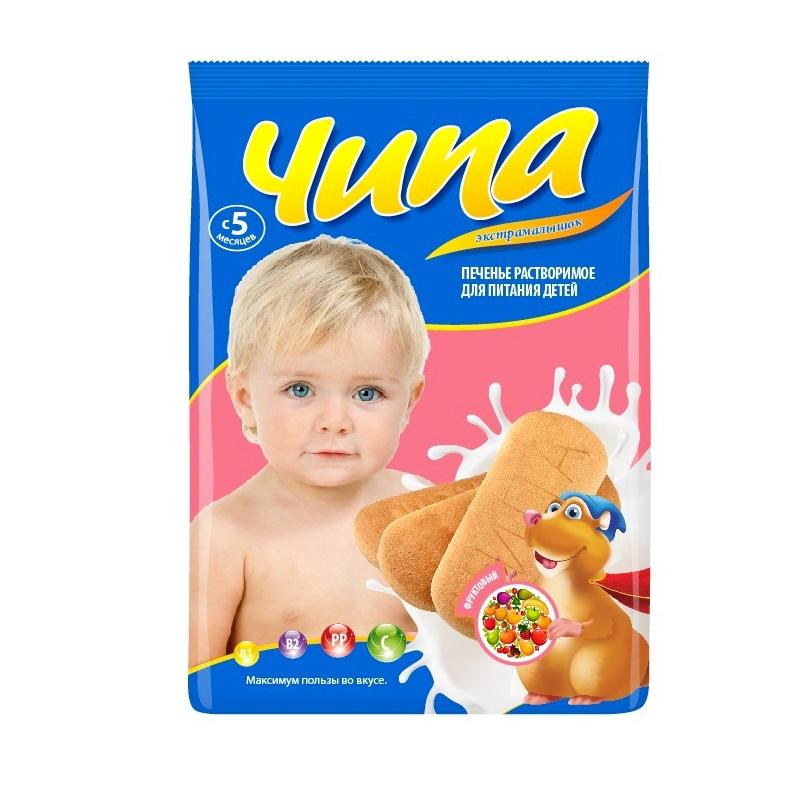 Печенье Экстра Малышок с 5 мес 180 гр Фруктовое