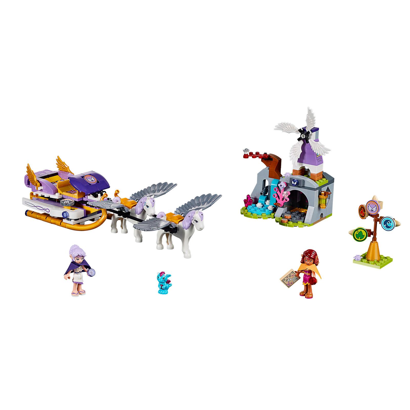 Конструктор LEGO Elves 41077 Летающие сани Эйры<br>