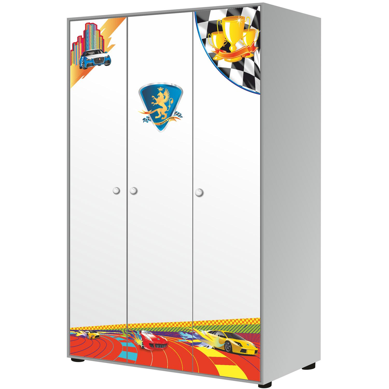 Шкаф 3-дверный Grifon Style RX800 Белоснежный<br>