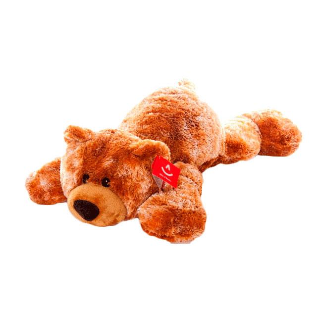 Мягкая игрушка AURORA Медведи Медведь коричневый лежачий 35 см<br>