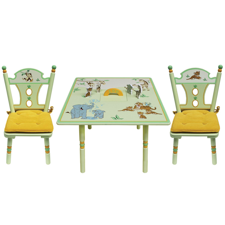 Комплект из стола и двух стульев Major-Kids ZOO<br>