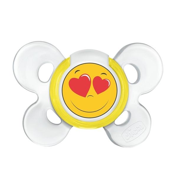 Пустышка Chicco Physio Comfort Smile С 0 до 6 мес<br>