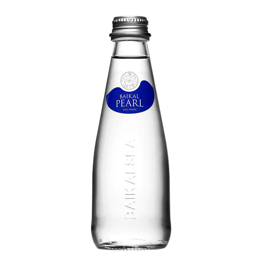 Вода питьевая Жемчужина Байкала Baikal Pearl Негазированная 0,25 л (стекло)<br>