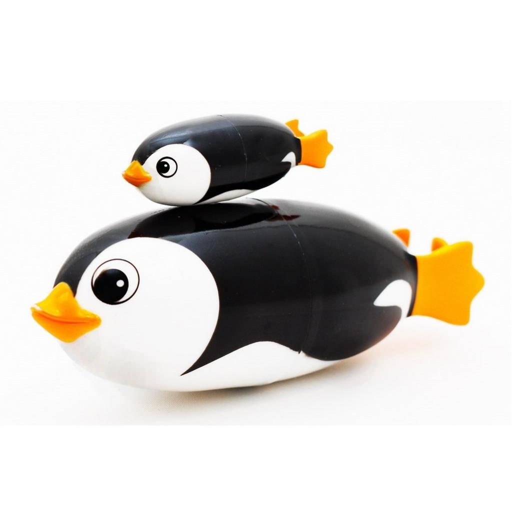 Игрушка для ванны Roxy-kids Пингвин Санни с детенышем<br>