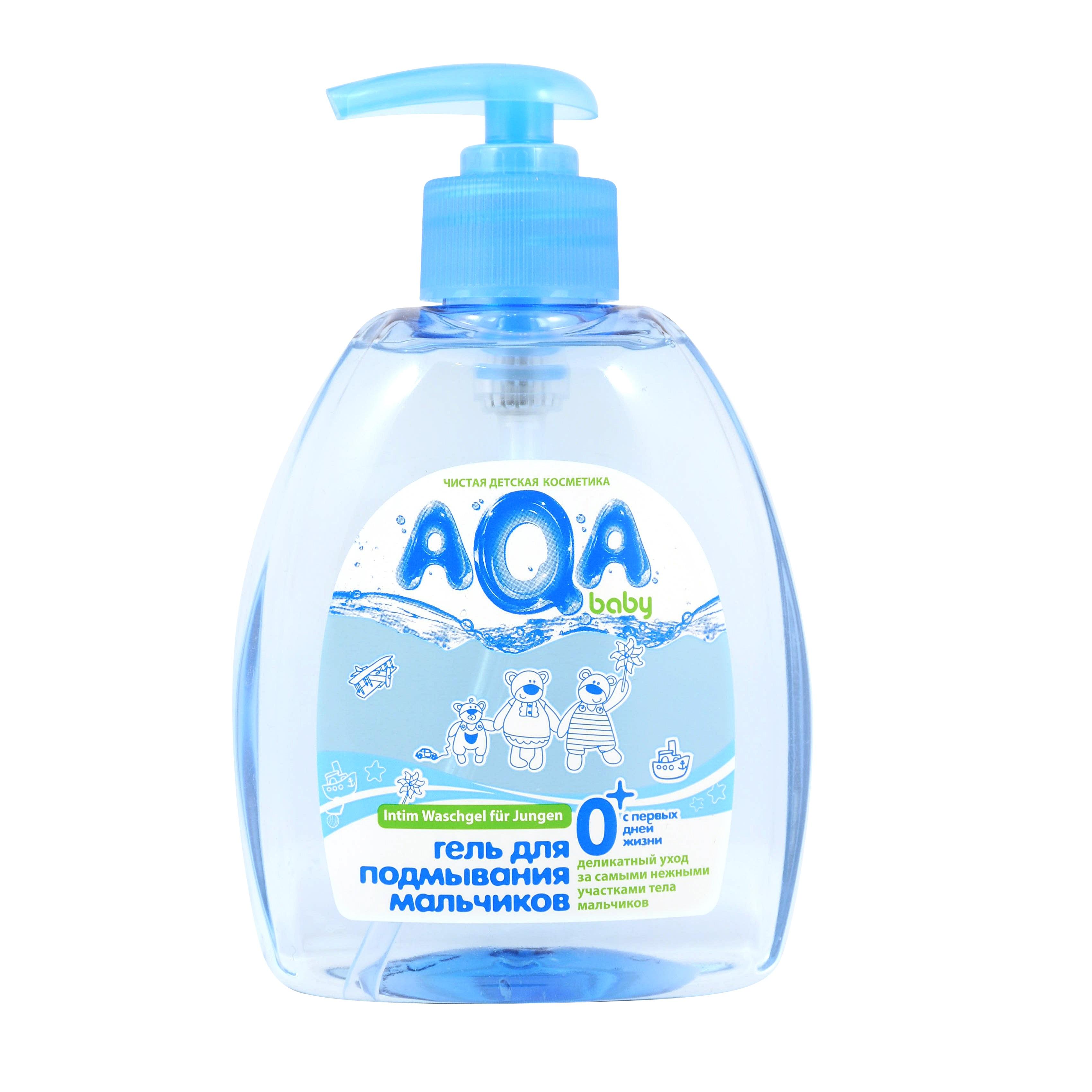 Средство для подмывания AQA baby для мальчиков 300 мл<br>