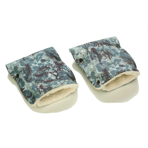 Муфты-рукавички Чудо-Чадо (Рисунок) меховые Экибана<br>