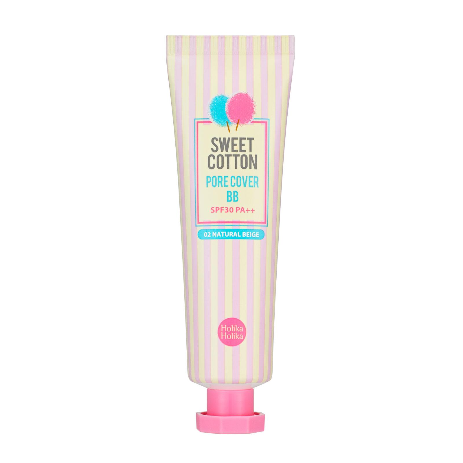 Крем BB Holika Holika Sweet Cotton Pore 02 натуральный беж 30 мл<br>