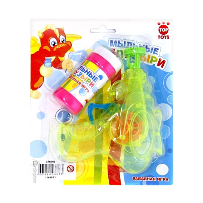 Мыльные пузыри Top Toys 40 мл Пистолет