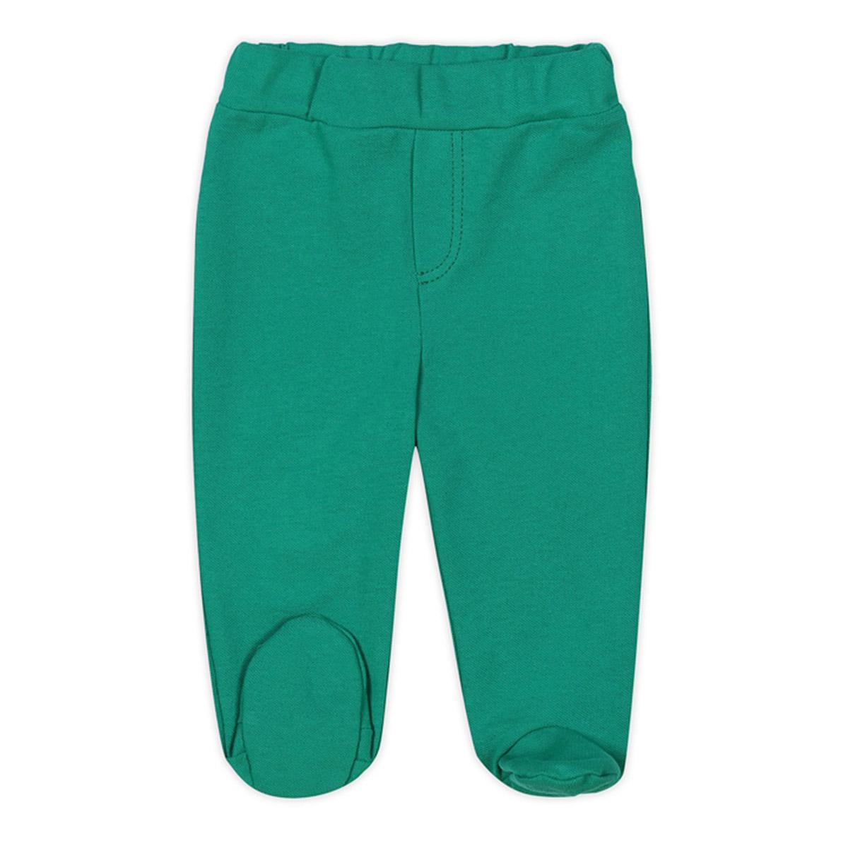 Ползунки с ножками Ёмаё Гольф (26-701) рост 68 изумрудный<br>